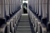 airline airplane plane seats