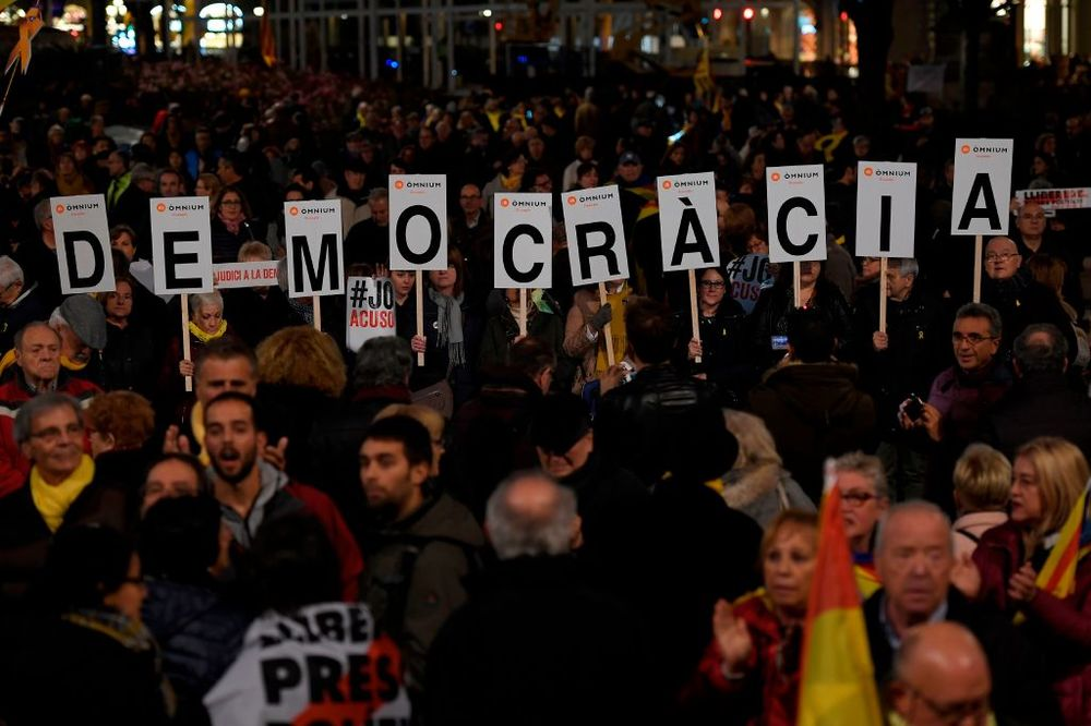 Spain's democracy can take the protests.