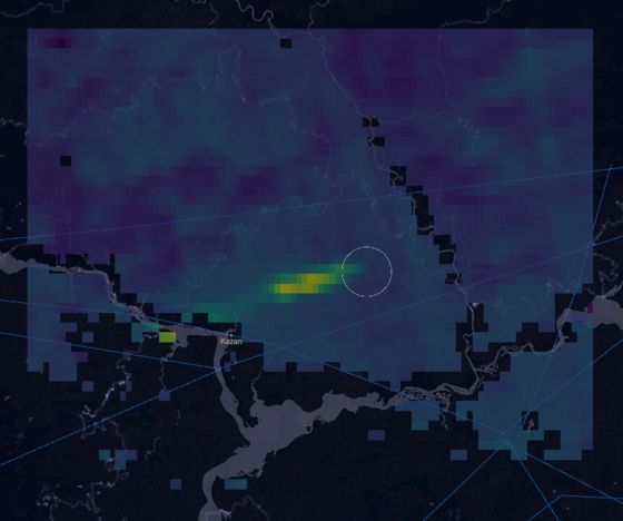 Huge Methane Leak Spotted by Satellite Came From Gazprom Pipeline