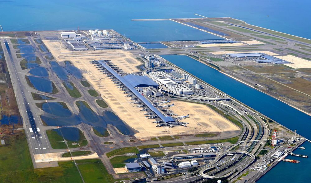 Japan's Kansai Airport to Reopen Partially After Typhoon Damage ...