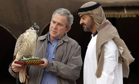 Bush and Sheikh Mohamed