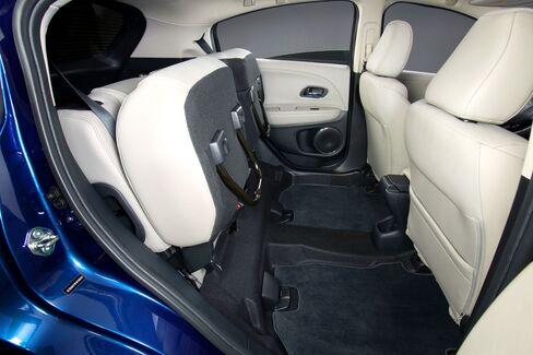 "Honda's ""Magic"" seats fold two ways."