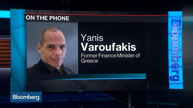 Varoufakis Says Italy Is `Quasi-Corrupt Quasi-Inefficient