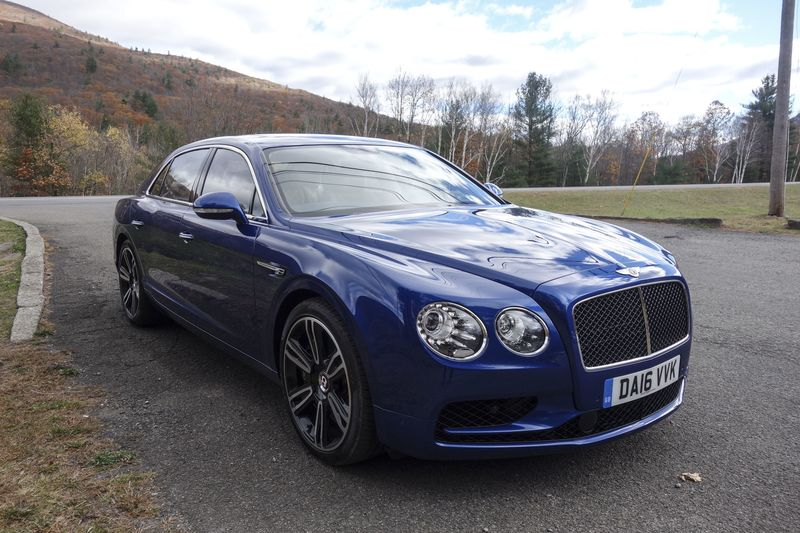 2018 bentley 4 door. exellent bentley bentleyflyingspurv8sreviewcarsbloomberg inside 2018 bentley 4 door