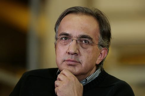 Fiat and Chrysler Group CEO Sergio Marchionne