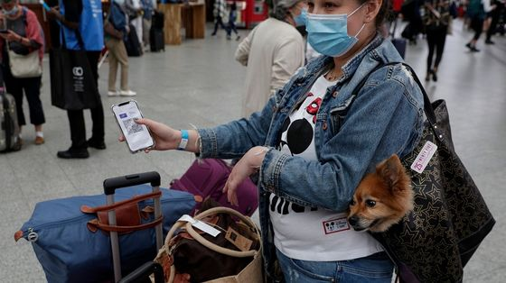 Mask Mandate for U.S. Travelers Extended to Jan. 18 Over Variant