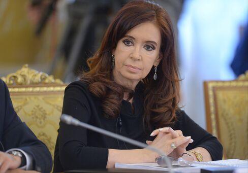 Argentina's President Cristina Fernandez de Kirchner