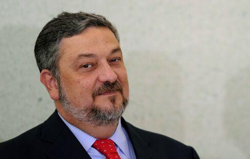 Former Brazilian Chief of Staff Antonio Palocci