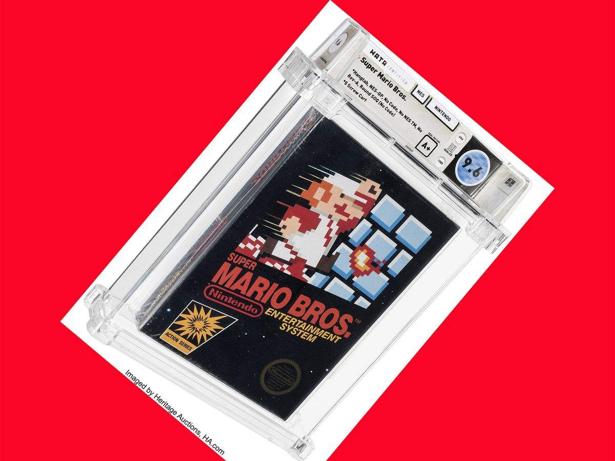 <p>Unopened Super Mario Bros.. </p>Game From 1986 Sells for $660,000 thumbnail