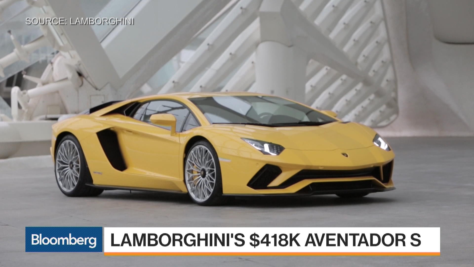 2018 lamborghini aventador s review track drive bloomberg. Black Bedroom Furniture Sets. Home Design Ideas