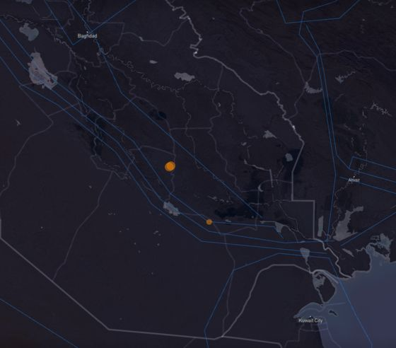Large Methane Cloudin Iraq CoincidedWith Gas Pipeline Leak