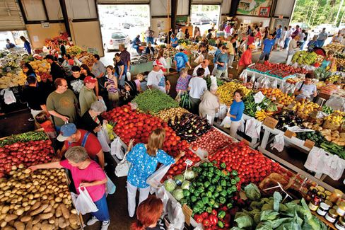More Farms Vie for the $1 Billion Spent at Farmers' Markets