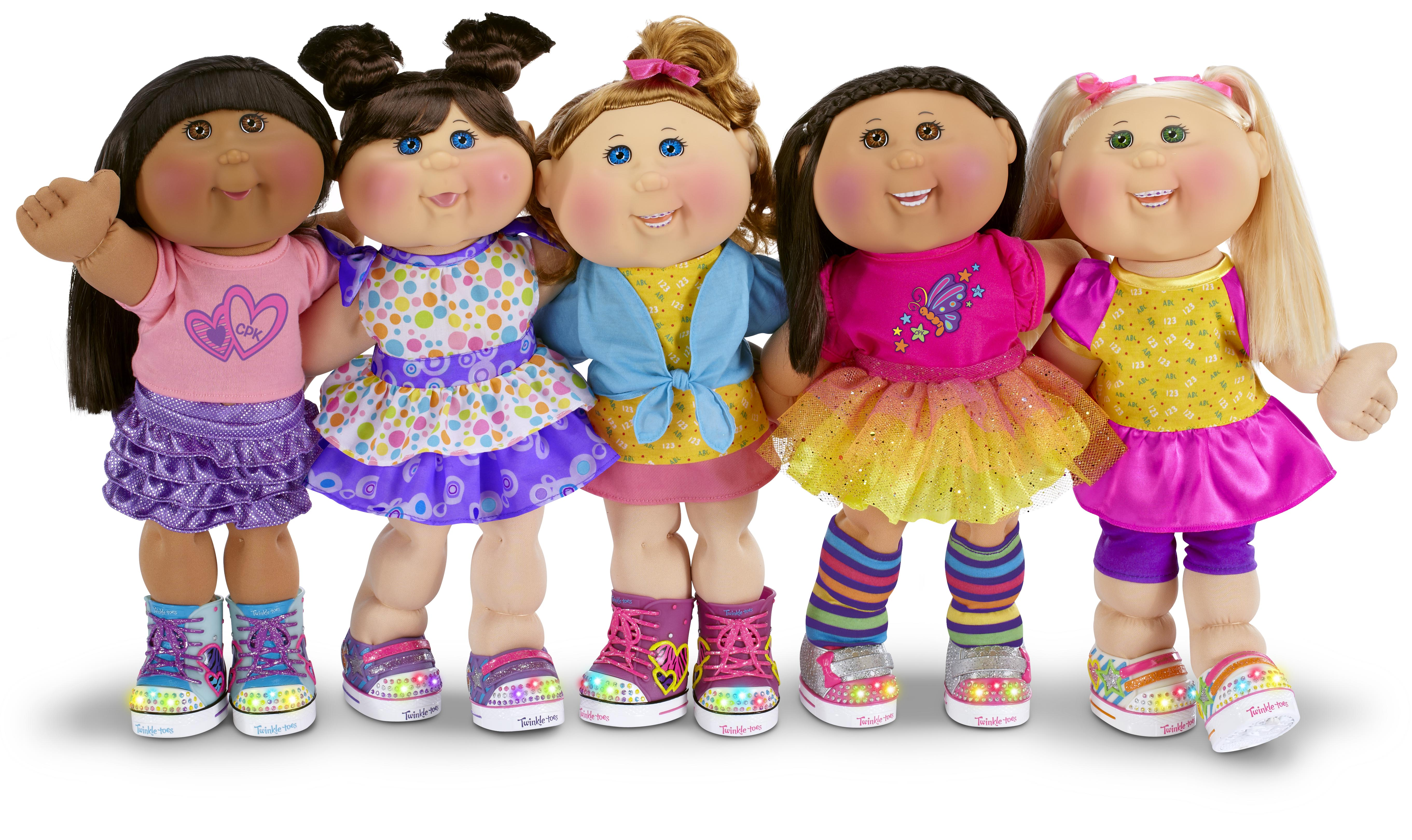 Cabbage Patch Kids Get 2014 Makeover With Skechers Shoes
