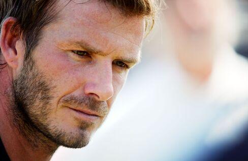 David Beckham `Bit Too Old' to Rejoin England