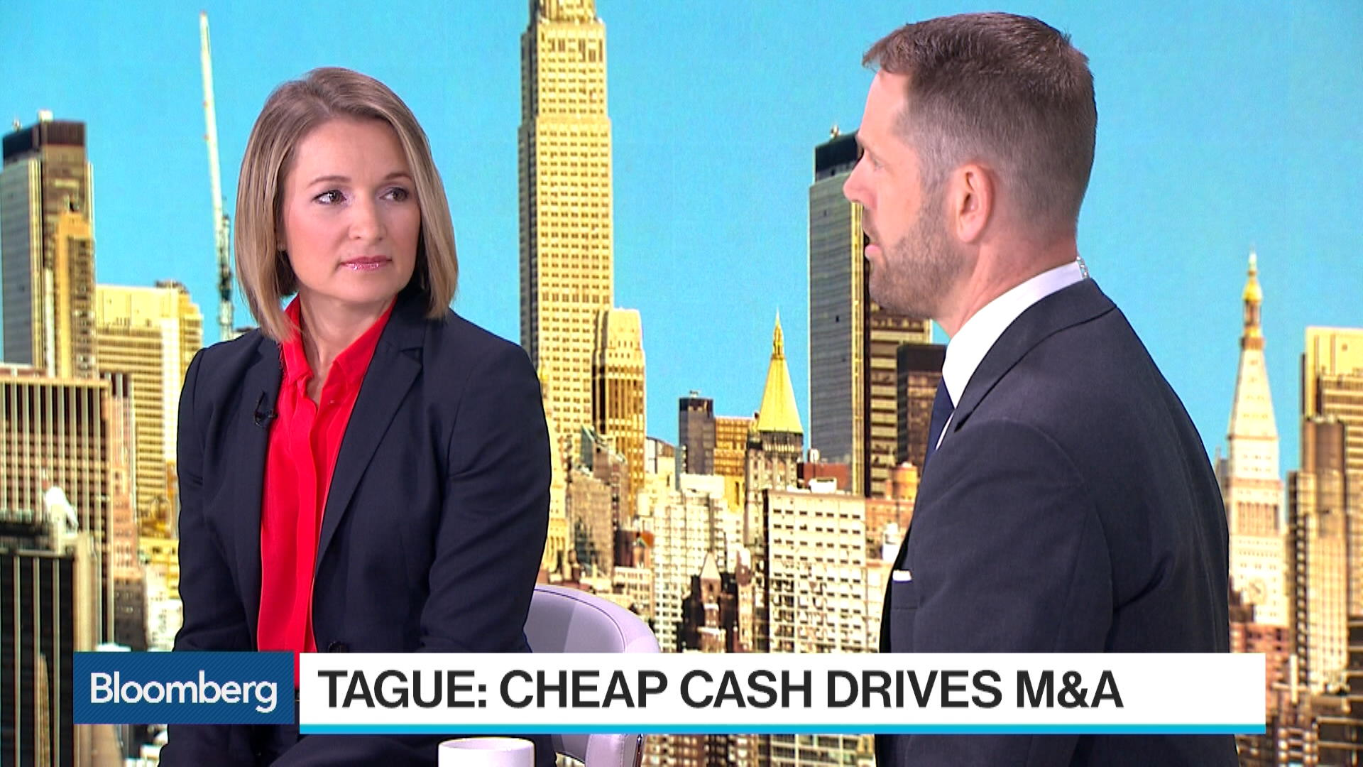 Citigroup S Tague Morgan Stanley S Zentner On M Amp A Rates Bloomberg