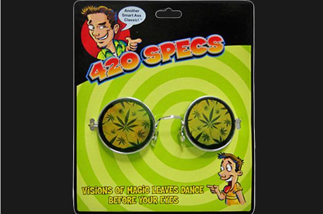 Spencer's Gifts' 420 Specs eye glasses, $5.99