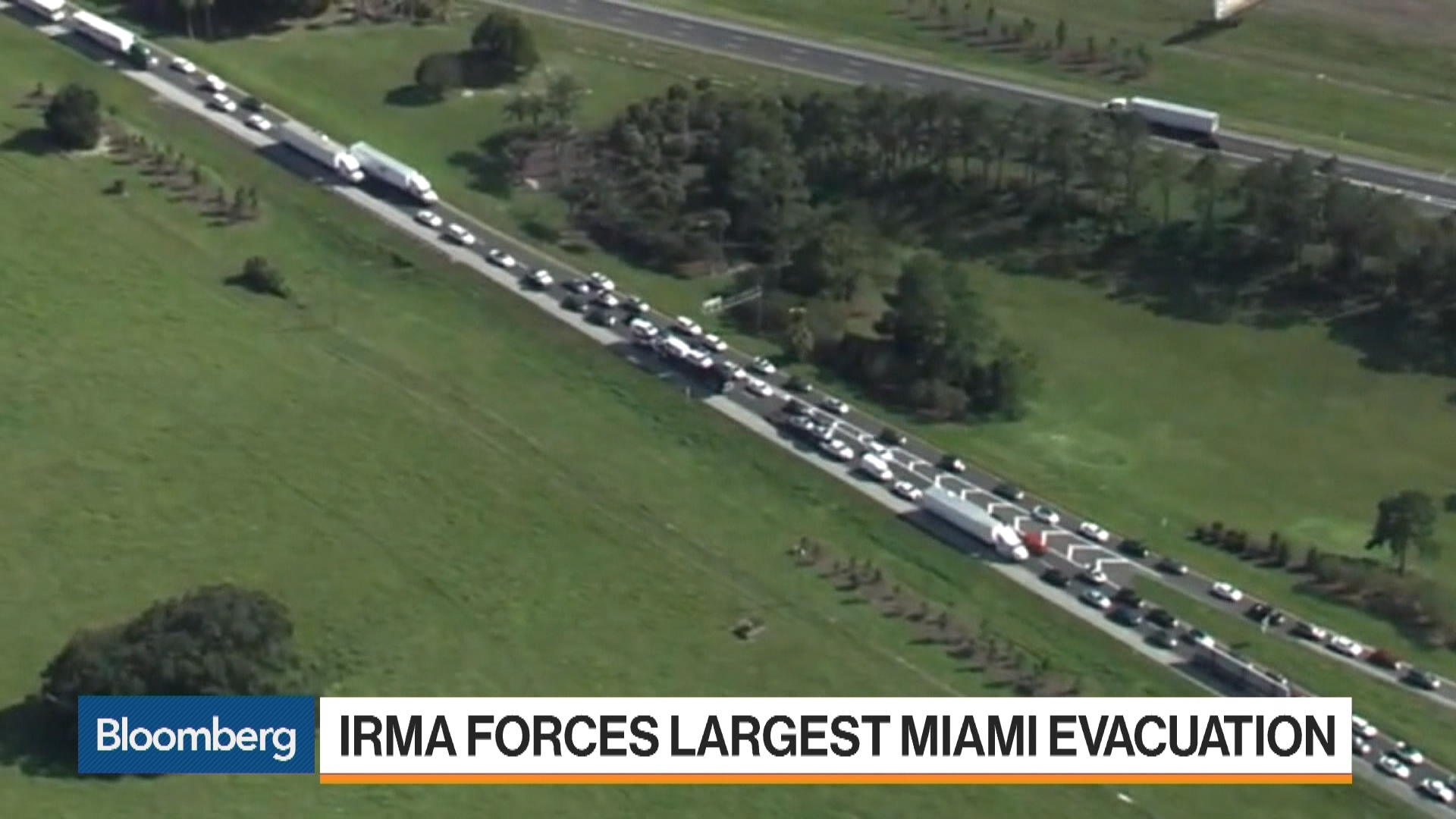 Hurricane Irma Forces Largest Miami Evacuation