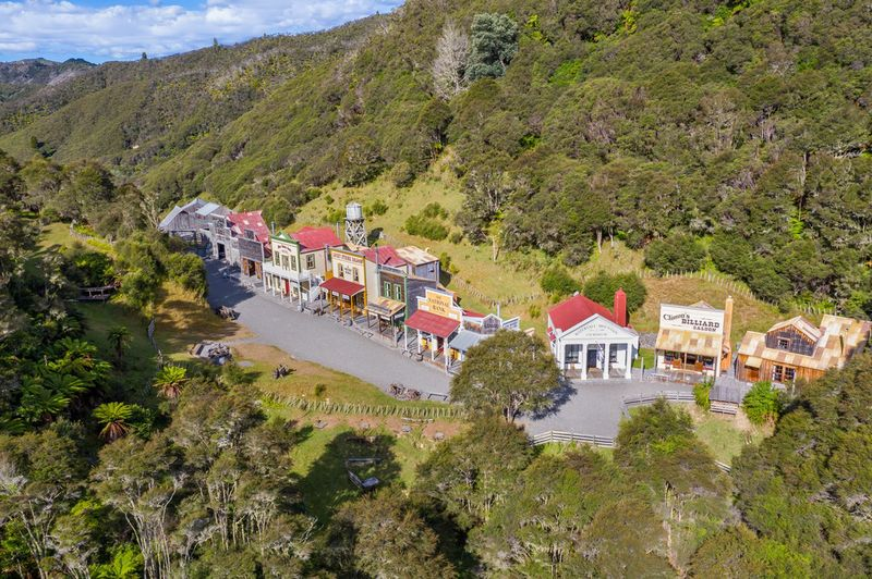 relates to An Entire Old West Town Is for Sale. But It's in New Zealand