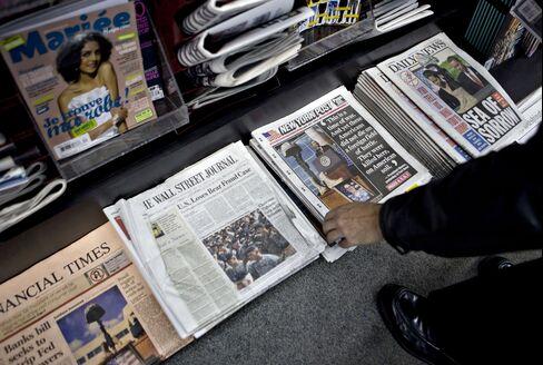 JPMorgan's Dimon Assails Newspaper Pay Levels