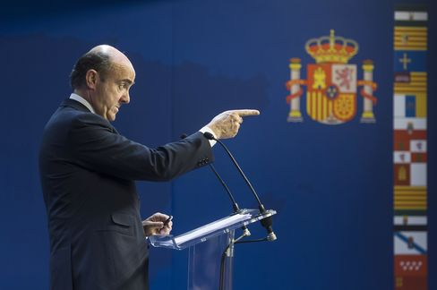 Spain Pledges Cuts to Meet 2013 Deficit Target as Bailout Looms