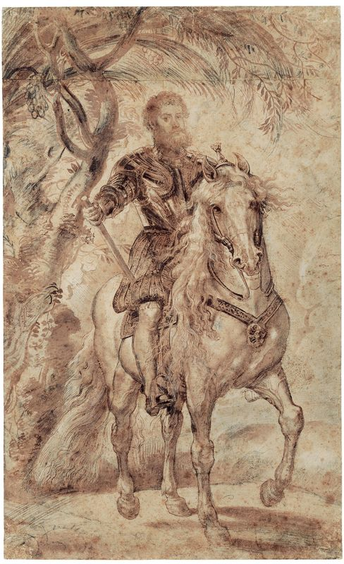 'Study for the Equestrian Portrait of the Duke of Lerma'