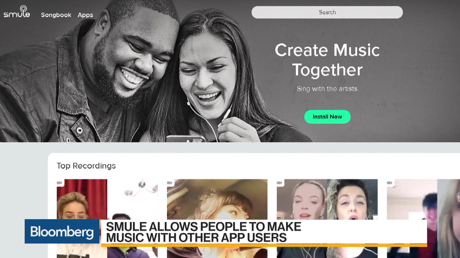 The Rise of Singing App Smule - Bloomberg