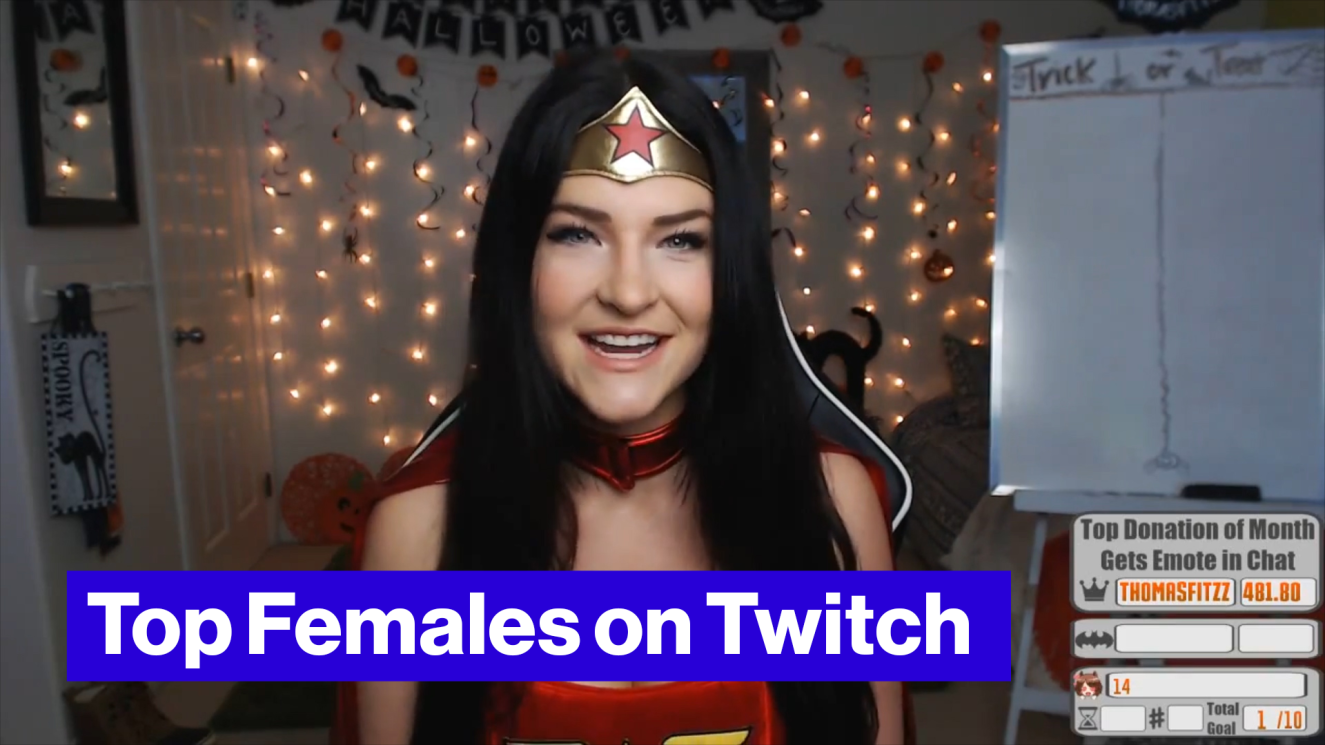 Girl streamers on twitch