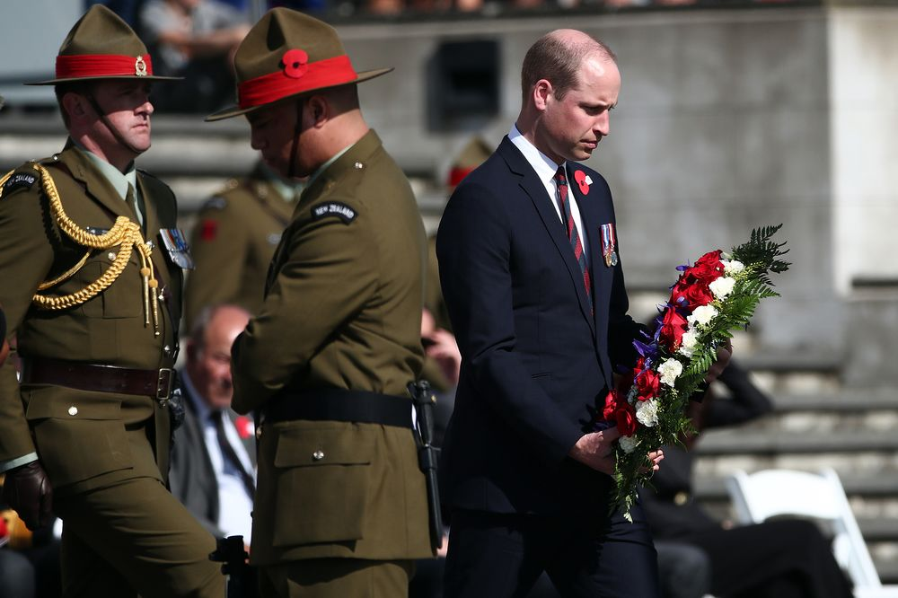 Prince William Meets New Zealand Mosque Attack Responders