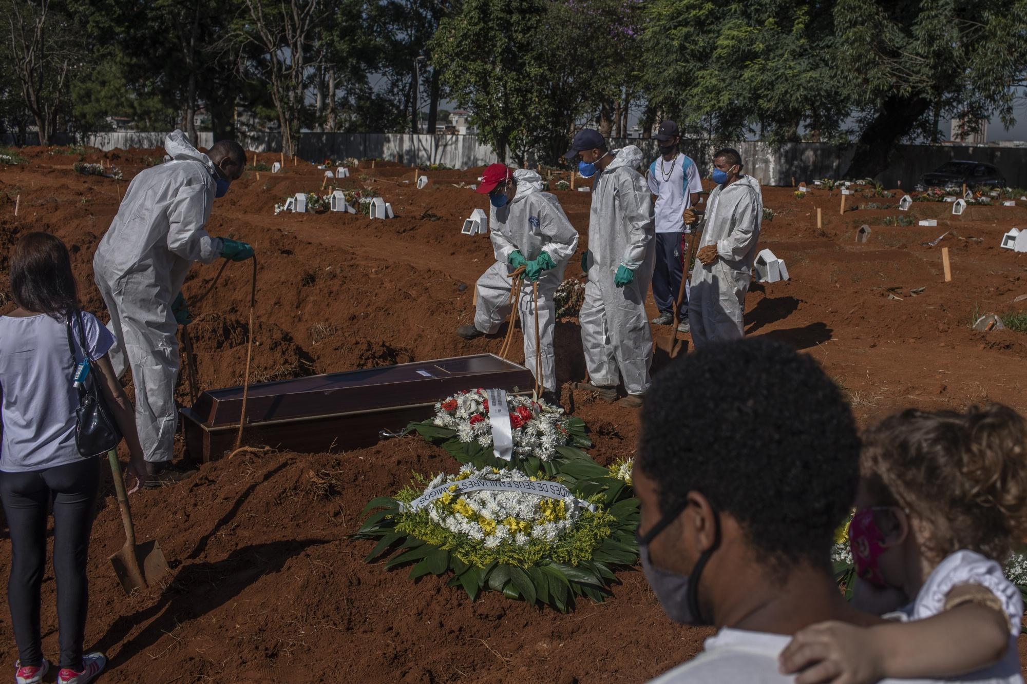 Brazil approaches grim milestone of 300,000 coronavirus deaths