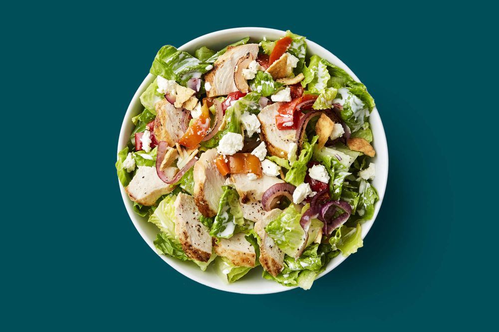 Salad Free matures tossing