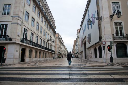 Portugal's Credit Rating Cut to Junk by Fitch on Debt