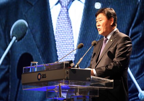 Nominee for Finance Minister Choi Kyung Hwan