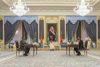 Ethiopian and Eritrean leaders in Saudi Arabia for peace agreement