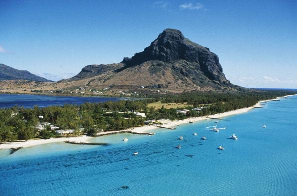 Morne Brabant massif, Mauritius.