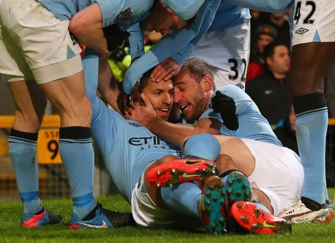 Manchester City Checks United's Title Surge by Beating Rival 2-1