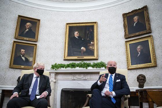 In Biden's Oval Office, Johnson's Brexit Promise Slips Away