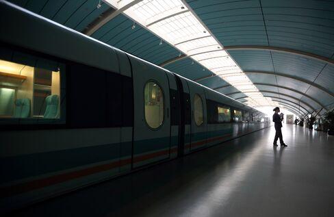 Rail Station in Shanghai