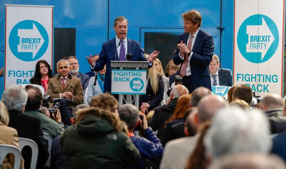 Brexit Party Has More Support Than Britain's Main Parties: Poll