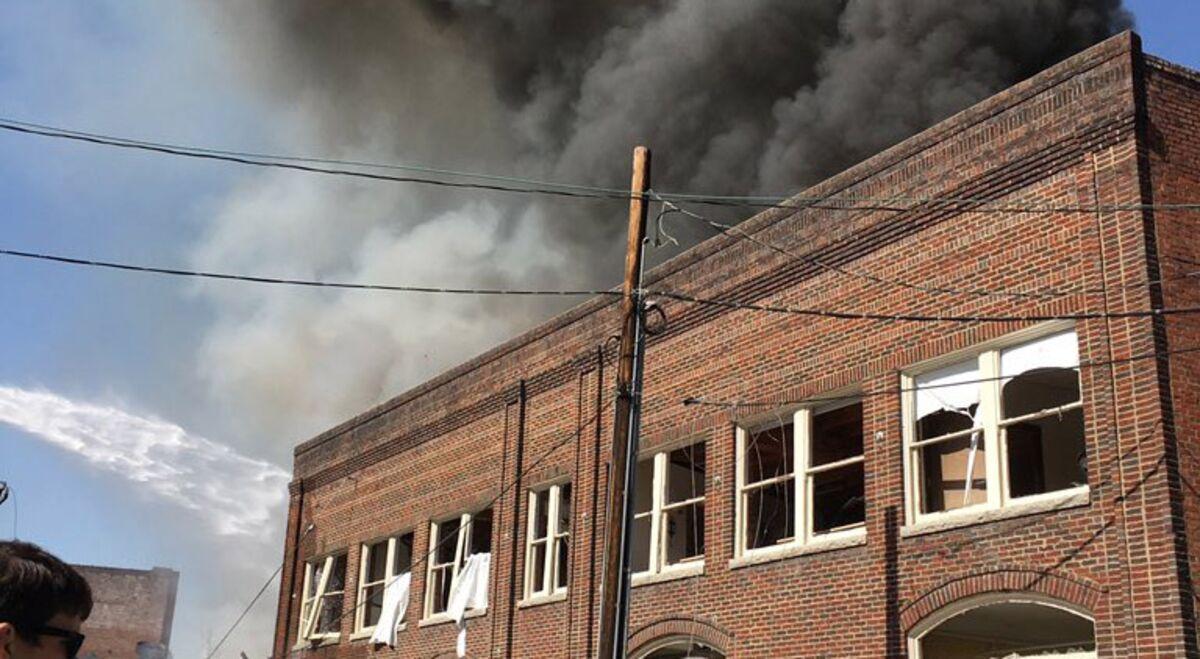 Gas Explosion Shakes Downtown Durham, North Carolina