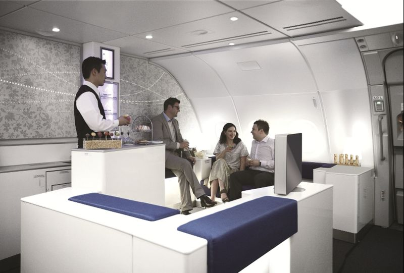 The Best Airplane Bars Have Leather Banquettes, 'Morning Programming'