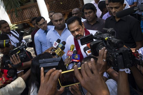 Sri Lanka's Leader Not Giving UpTrying to Install a Strongman as PM