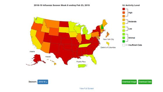 It's Not Over Yet: The Flu Is Still Spreading This Year