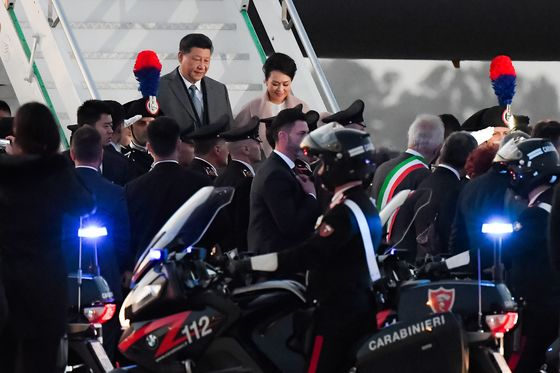 Half the World Worries About Italy Getting in Bed With China