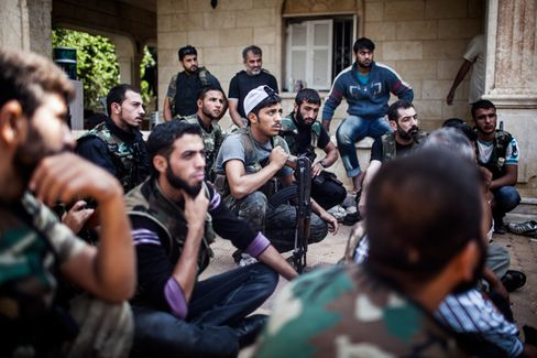 Syria's Rebels Raise Funds Online