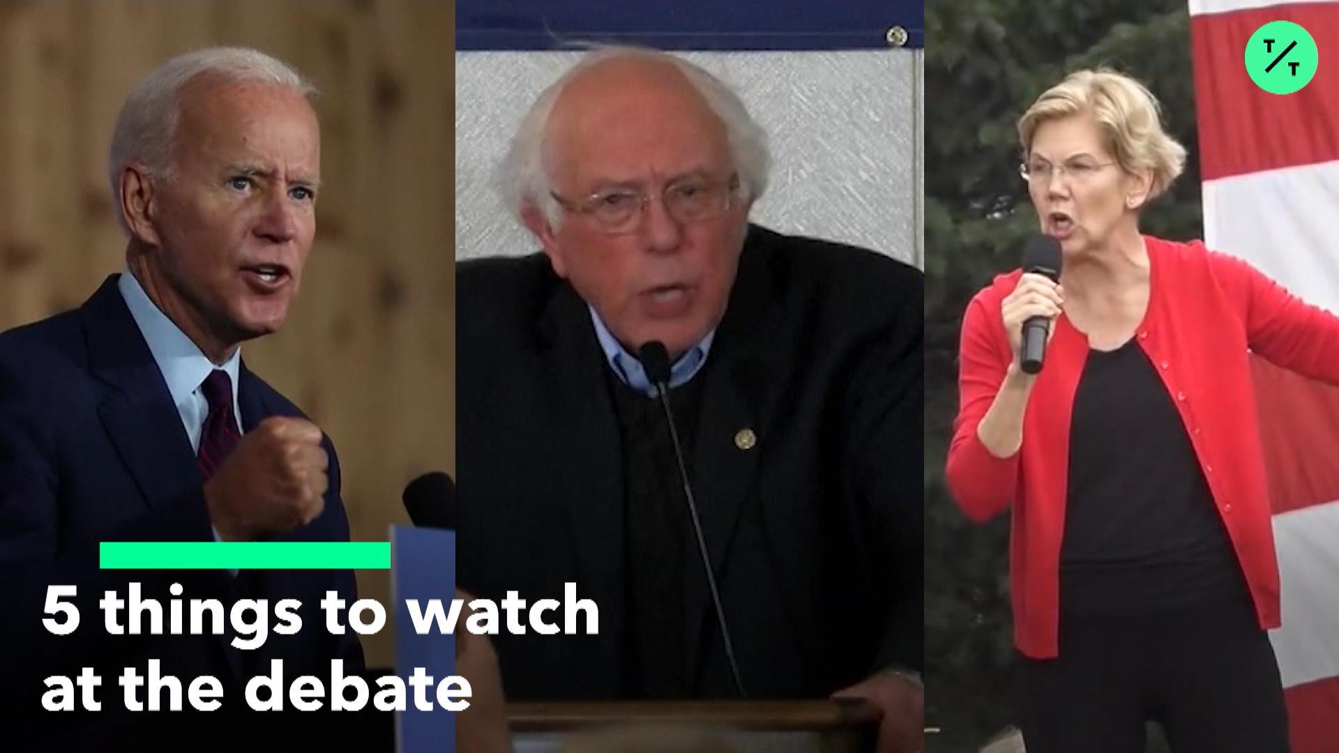5 Things To Watch At The Debate