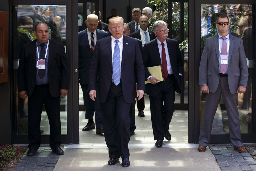 トランプ大統領、G7首脳宣言を承認せず-加首相を批判 - Bloomberg