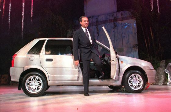 Mahathir Revives Dream of National Car After `Baby' Proton Sold