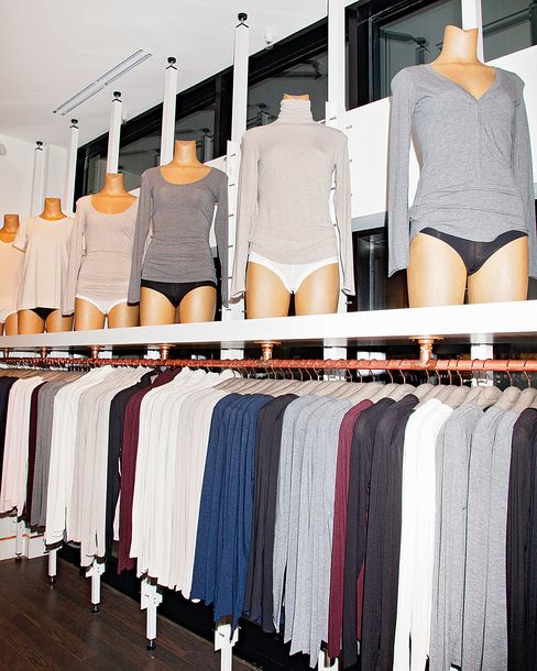 Mannequins in a Toronto store.