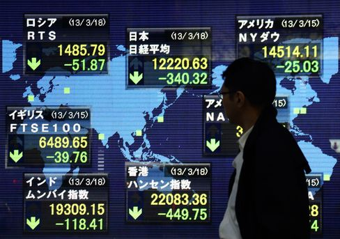 Asian Stocks Rise, Rebounding From Biggest Slump Since July