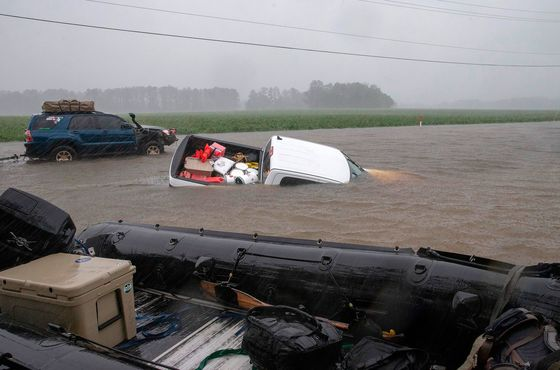 Florence CausesCatastrophic Flooding in the Carolinas